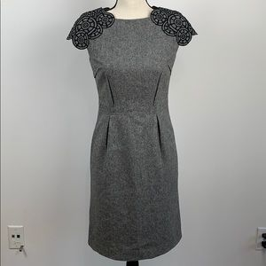 BCBGMaxAzria Wool Blended Dress Size S